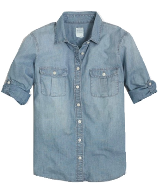 TOP CHAMBRAY SHIRT