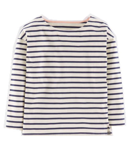 TOP - striped top