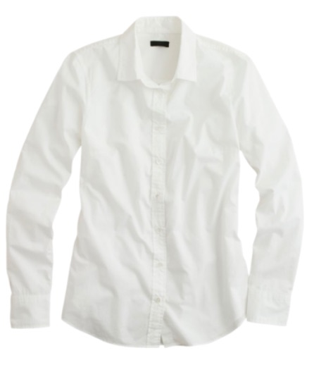 wardrobe essential white shirt