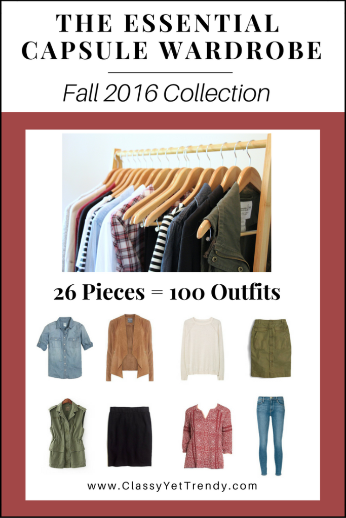 The Essential Capsule Wardrobe Fall 2016 cover