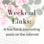 Weekend Links