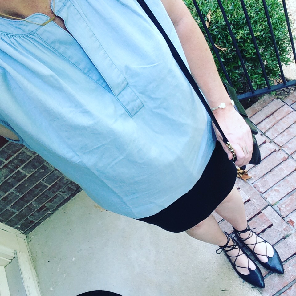 chambray shirt instagram 1