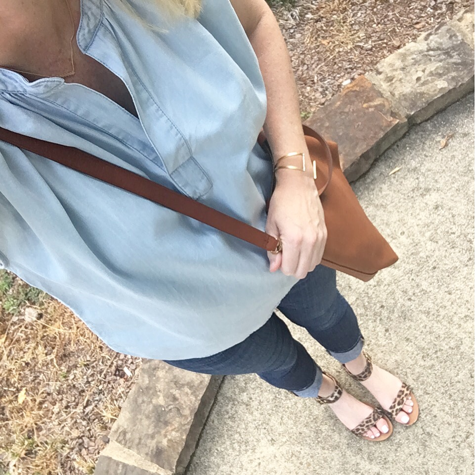 chambray shirt instagram 3