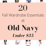 20 Fall Wardrobe Essentials at Old Navy Under $35