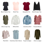 My Capsule Wardrobe: Fall 2016