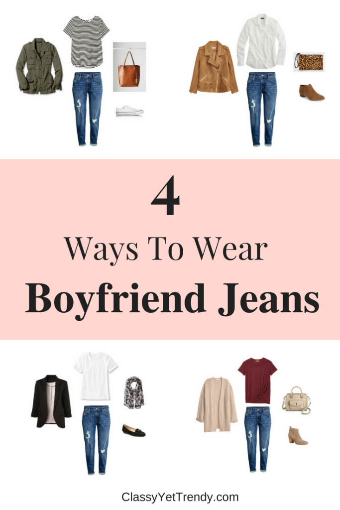 4 Ways To Wear Slim Boyfriend Jeans