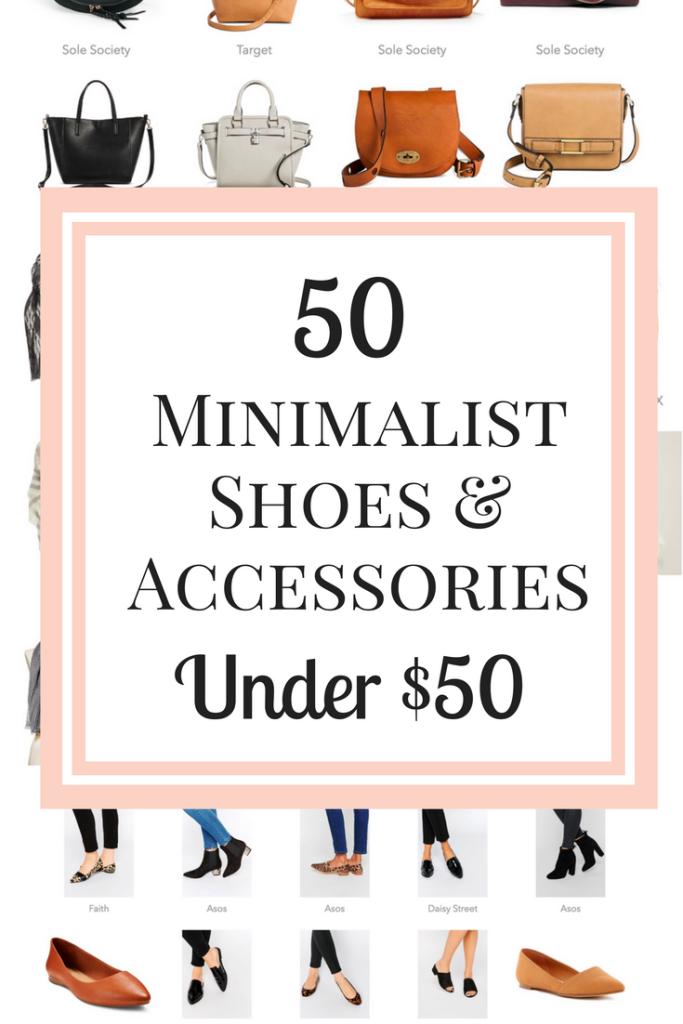50 Minimalist Shoes & Accessories Under $50
