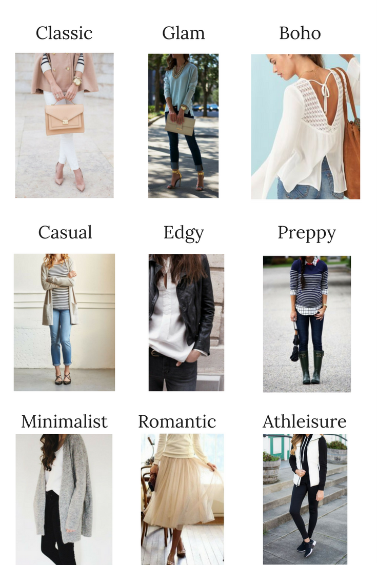 9 Personal Fashion Styles