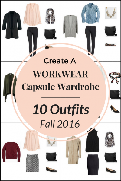 Create a Workwear Capsule Wardrobe On a Budget: 10 Fall Office Outfits