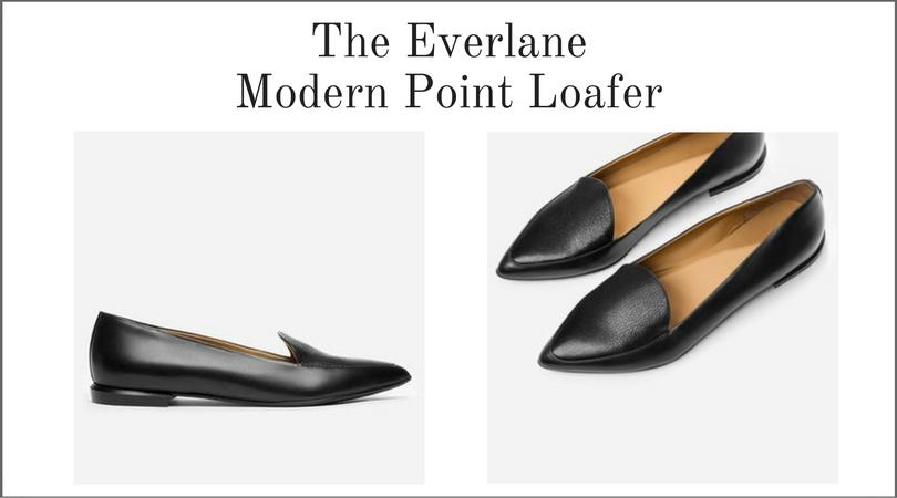 Everlane Modern Point Loafer