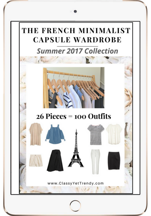 Create A French Minimalist Capsule Wardrobe: 10 Summer