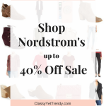 Shop Nordstrom's up to 40% Off Sale
