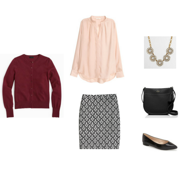 The Workwear Capsule Wardrobe: Fall 2016 Collection Outfit 1