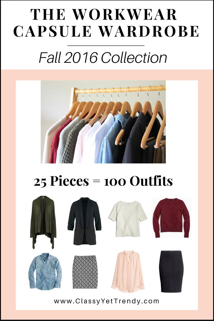 Create A Workwear Capsule Wardrobe On A Budget 10 Fall