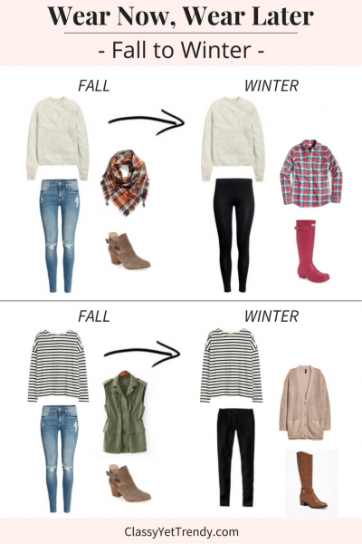 Wear Now Wear Later: Fall To Winter