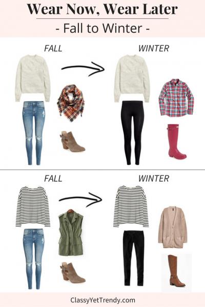 Wear Now Wear Later: Fall To Winter