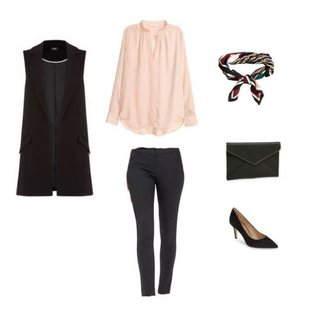 The Workwear Capsule Wardrobe Outfit #54