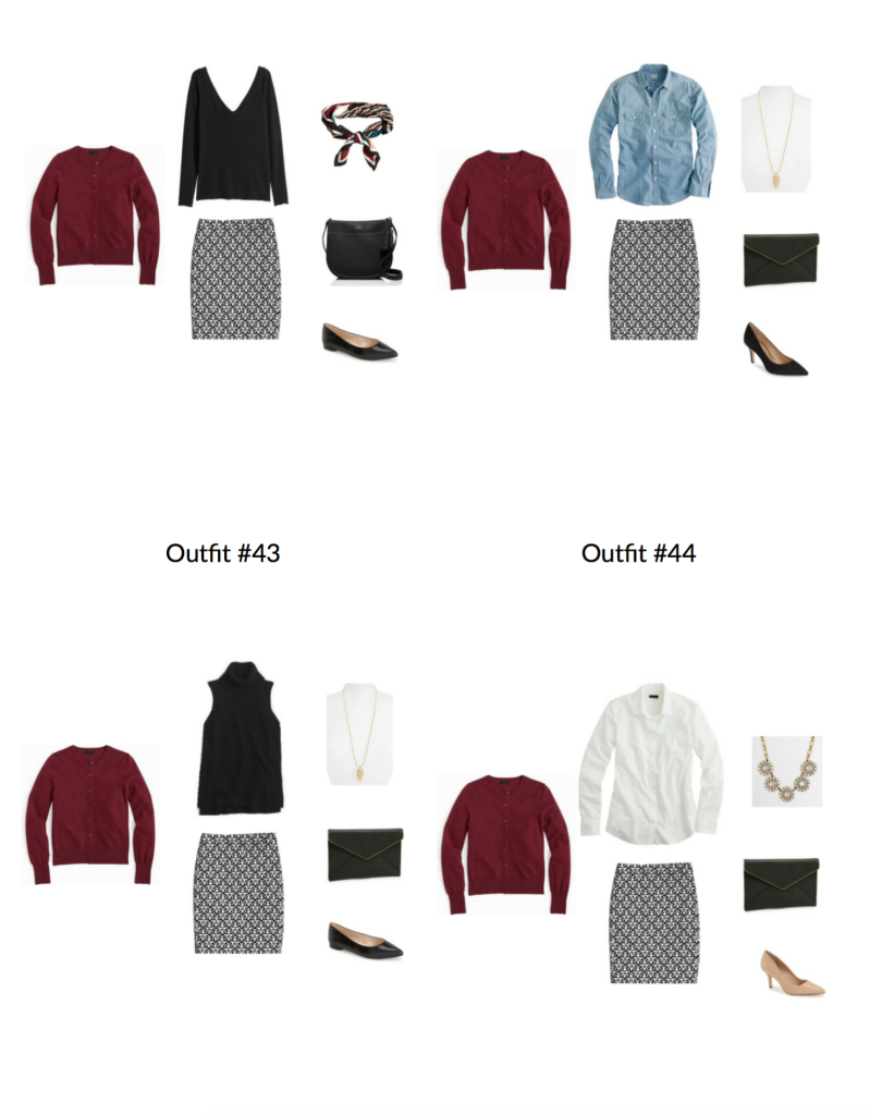 The Workwear Capsule Wardrobe: Fall 2016 Collection Sample 2