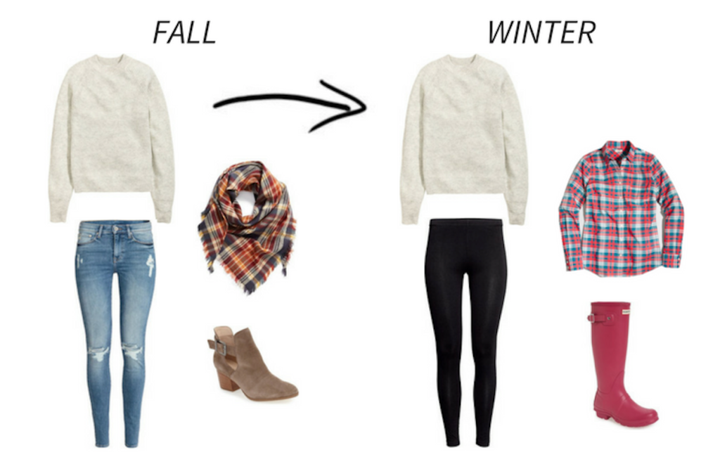 Wear Now Wear Later: Fall To Winter Outfit 1