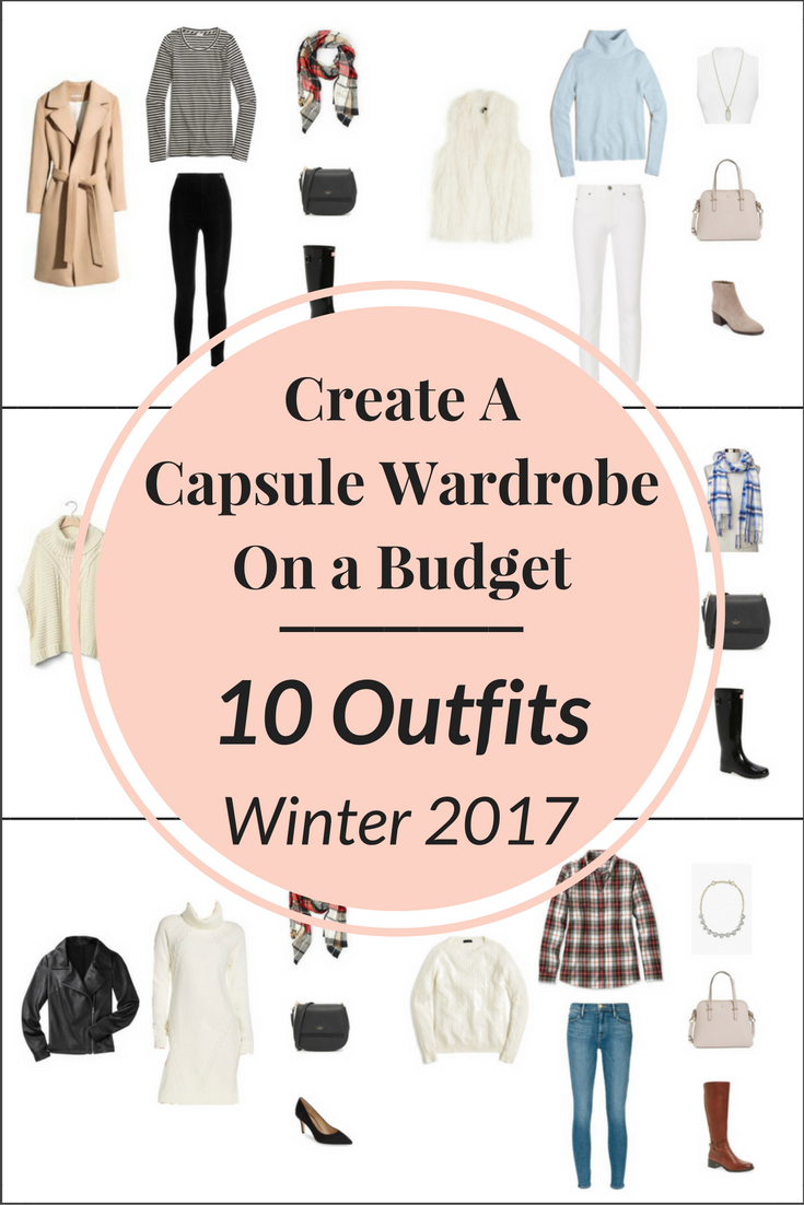 Create a Capsule Wardrobe On a Budget: 10 Winter Outfits ...