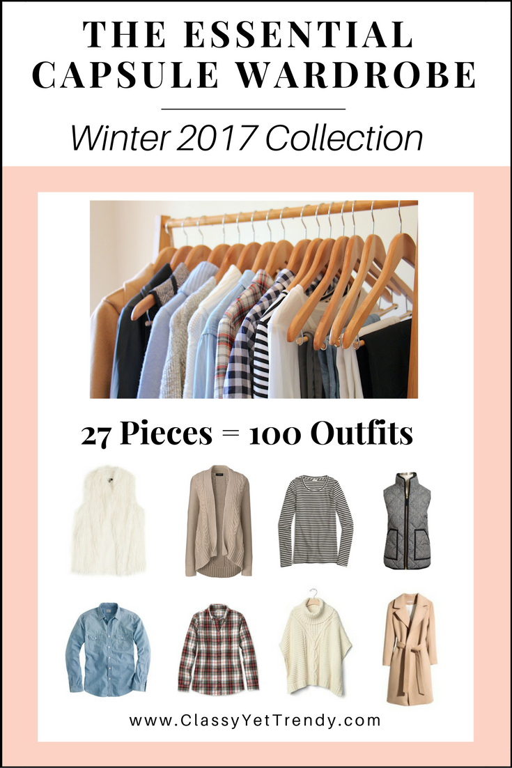 The Essential Capsule Wardrobe Winter 2017 Collection