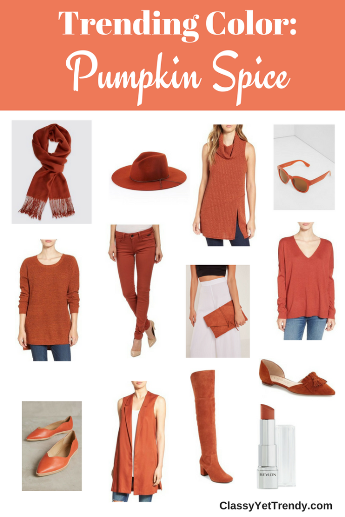 Trending Color - Pumpkin Spice_