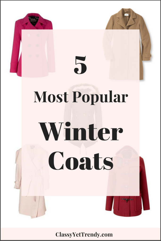 5 Most Popular Winter Coats