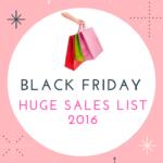 Huge Black Friday Sales List