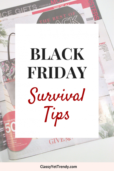 Black Friday Survival Tips