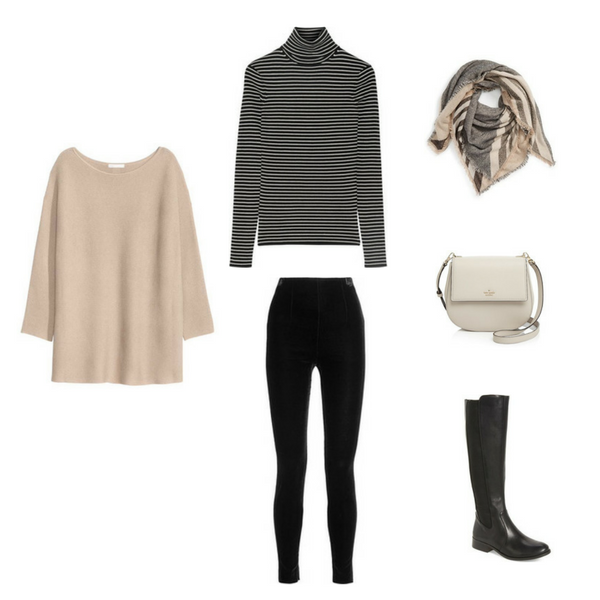 THE FRENCH MINIMALIST CAPSULE WARDROBE: WINTER 2017 COLLECTION Outfit #28