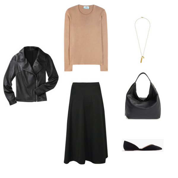 French Minimalist Fall 2016 - Outfit #4