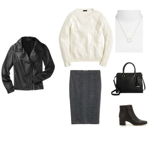 THE FRENCH MINIMALIST CAPSULE WARDROBE: WINTER 2017 COLLECTION - Outfit #74