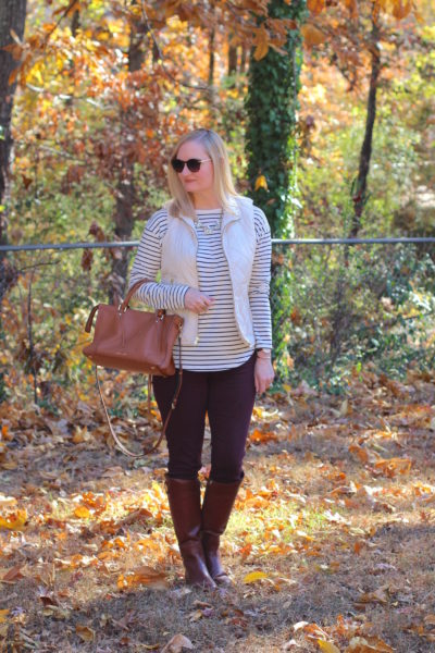 Favorite Fall Outfit Formula (Trendy Wednesday Link-up #99)