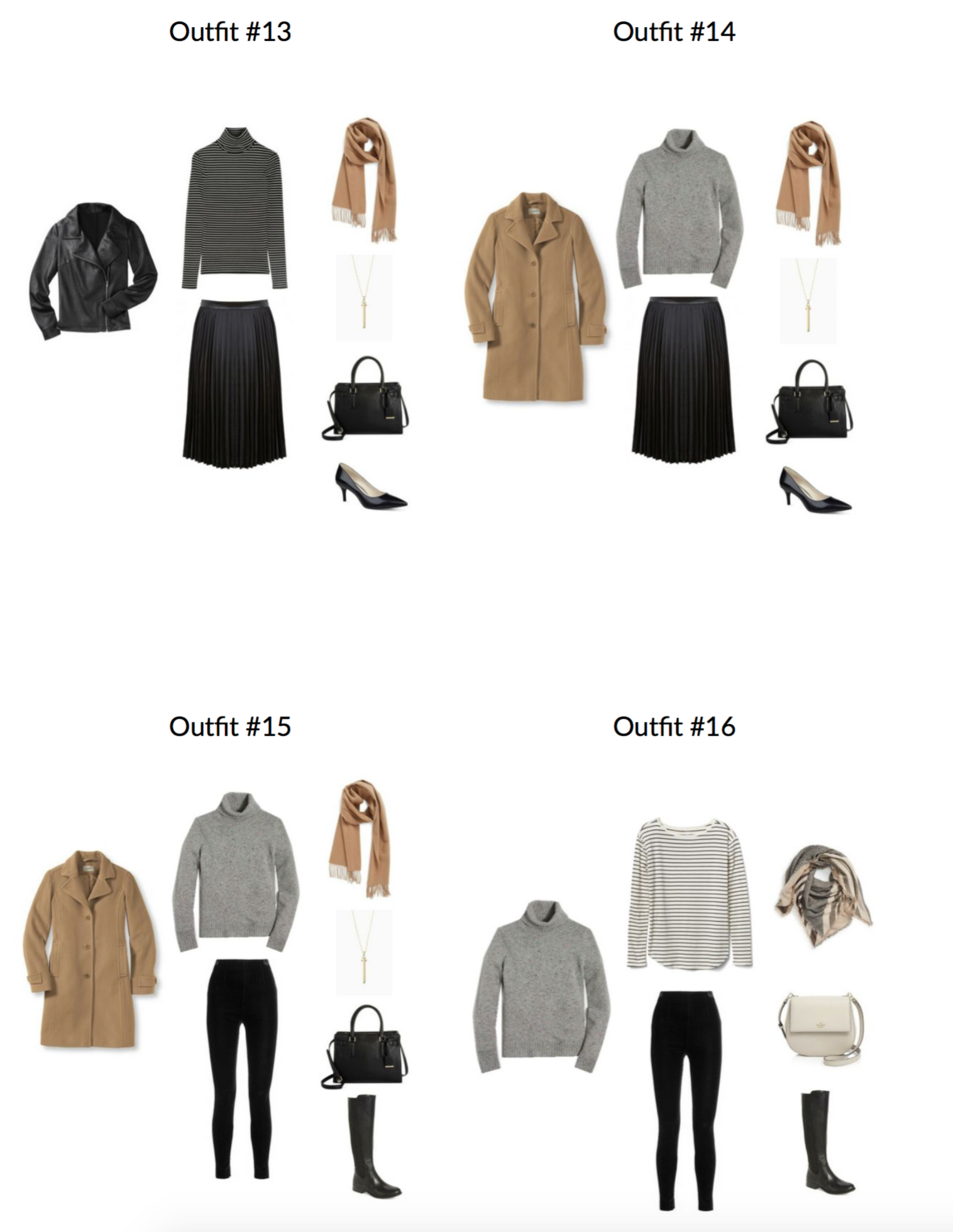 The French Minimalist Capsule Wardrobe: Winter 2017