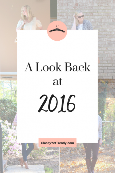 Look Back at 2016 (Trendy Wednesday Link-up #102)