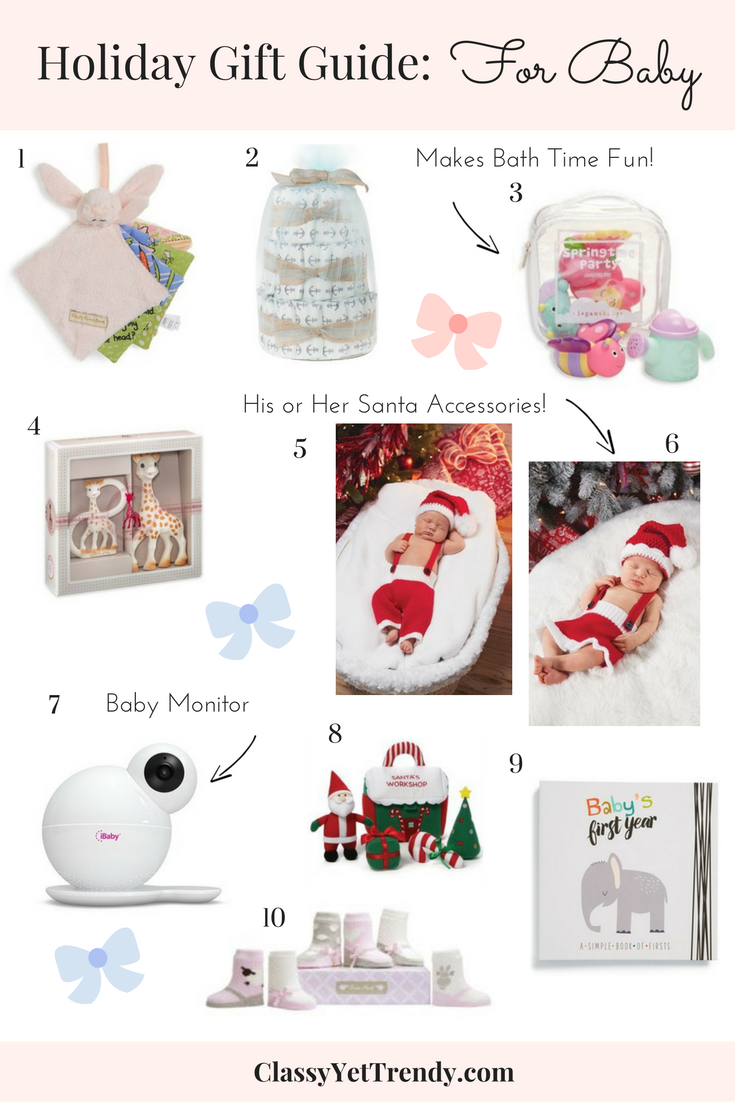 Baby Gifts For Parents Who Have Everything : Holiday gift guide for baby classy yet trendy