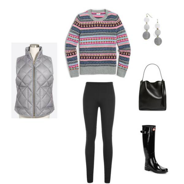 How To Wear Leggings 3 Ways - OUTFIT #3