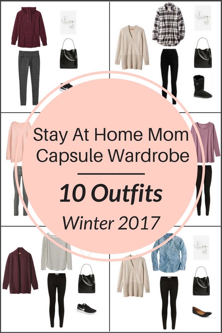 Stay At Home Mom Capsule Wardrobe On a Budget- 10 Winter Outfits