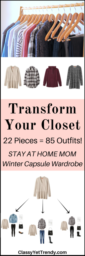 Stay At Home Mom Capsule Wardrobe e-book- Winter 2017