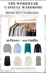 The Workwear Capsule Wardrobe E-Book: Winter 2017 Collection