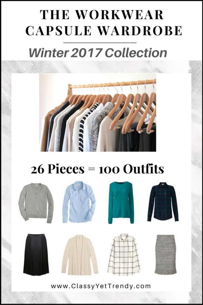 Workwear Capsule Wardrobe Winter 2017 EBook