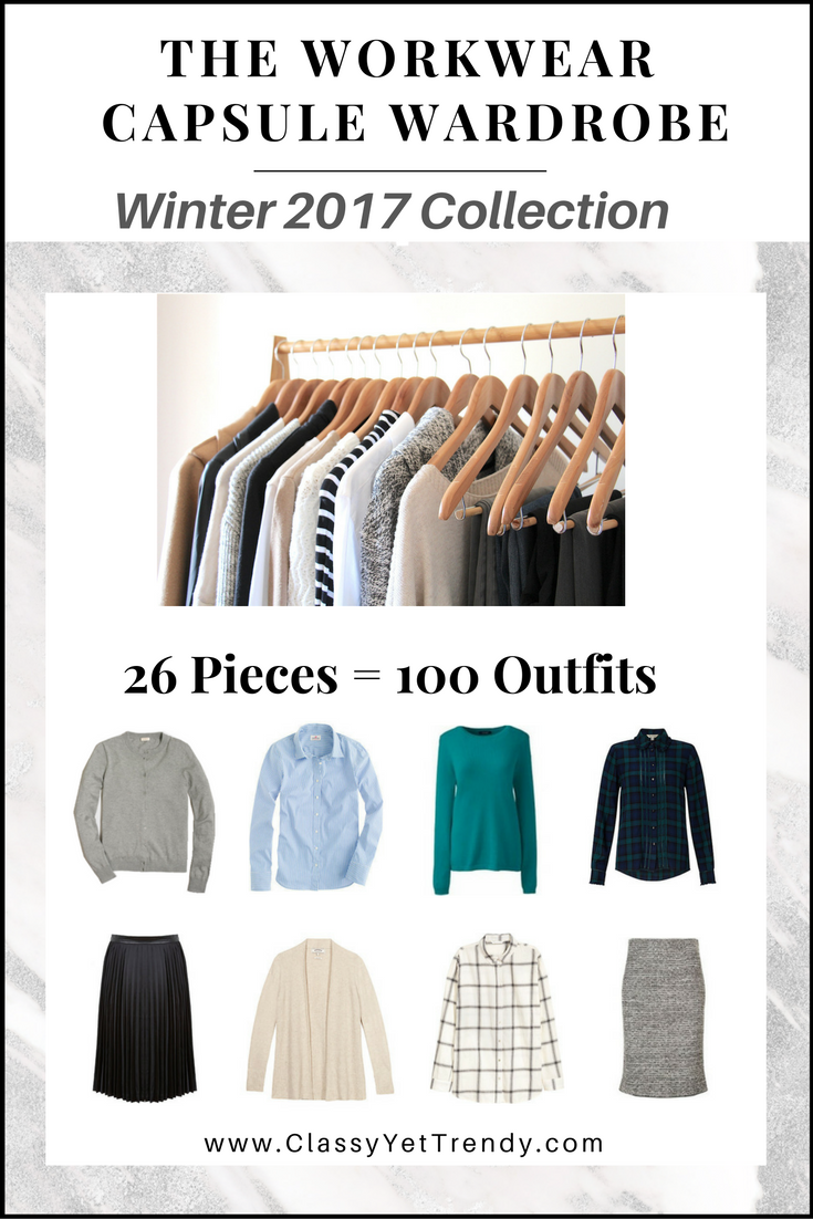 The Workwear Capsule Wardrobe E Book Winter 2017
