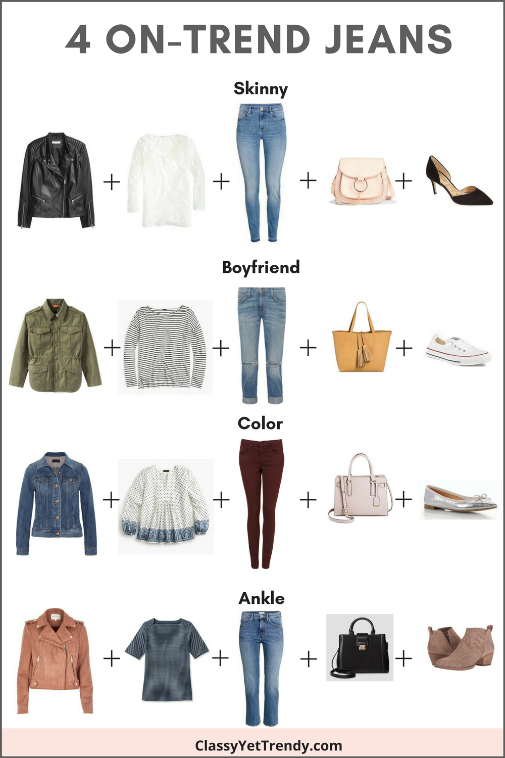 4 On-Trend Jeans & How To Wear Them -