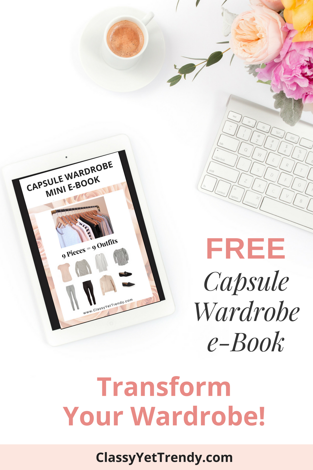Mini Winter Capsule Wardrobe e-Book Promo