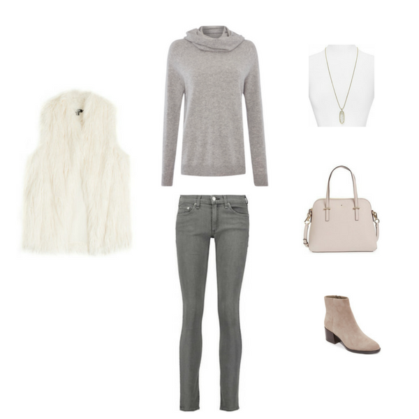 Essential Capsule Wardrobe Winter Outfit #15