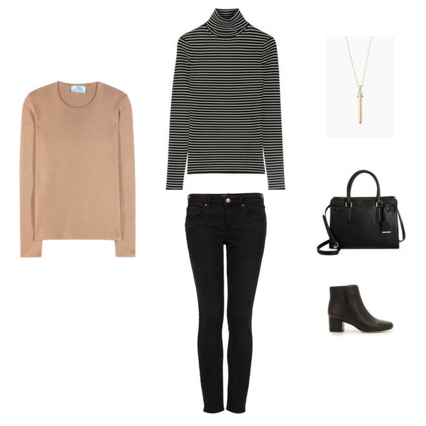 French Minimalist Winter Outfit #57