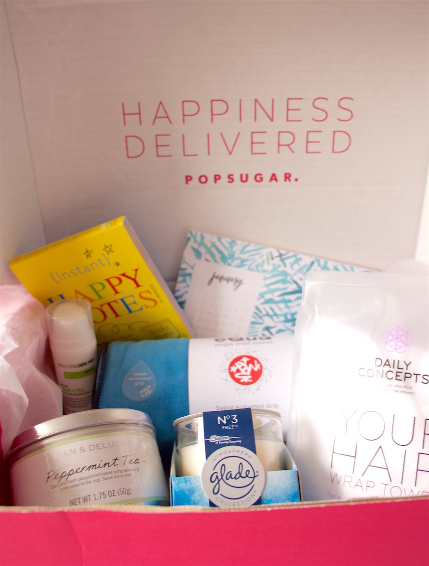Popsugar Must Have Box - January 1