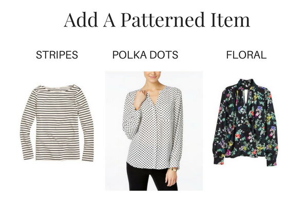 Add a Patterned Item