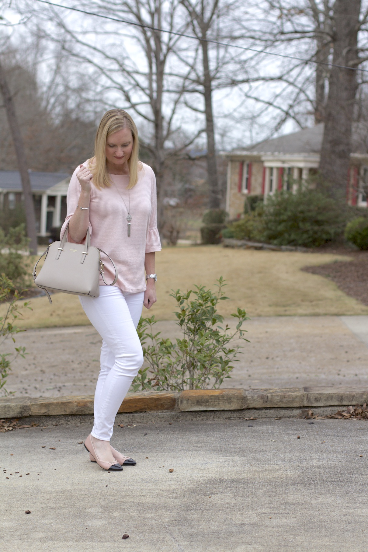 Blush Bell Sleeves