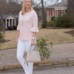 Blush Bell Sleeves (Trendy Wednesday Link-up #109)
